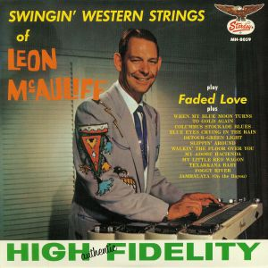 McAULIFF, Leon - Swingin' Western Strings Of Leon McAuliff (reissue)