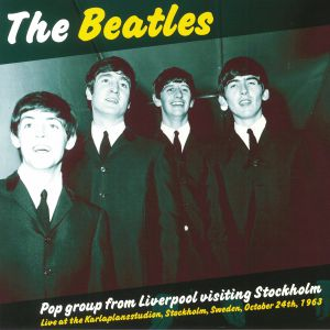 BEATLES, The - Pop Group From Liverpool Visiting Stockholm