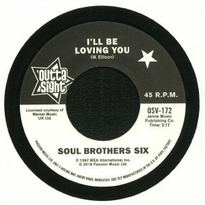 SOUL BROTHERS SIX/WILLIE TEE - I'll Be Loving You