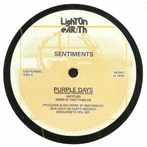 SENTIMENTS - Purple Days