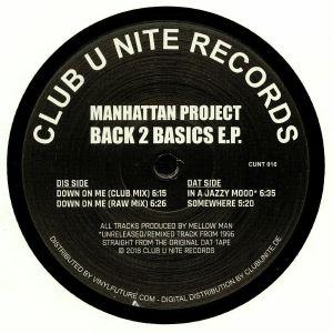 MANHATTAN PROJECT - Back 2 Basics EP
