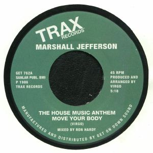 JEFFERSON, Marshall - The House Music Anthem Move Your Body