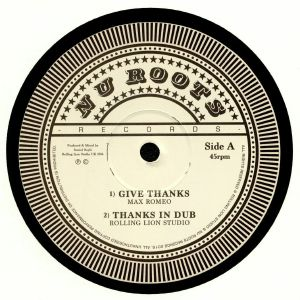 ROMEO, Max/ROLLING LION STUDIO/LEE PERRY/VIN GORDON - Give Thanks