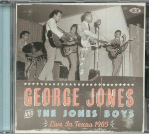 JONES, George &THE JONES BOYS/VARIOUS - Live In Texas 1965