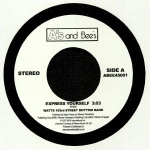 WATTS 103RD ST RHYTHM BAND/THE METERS - Express Yourself (remastered)