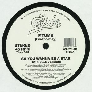 MTUME - So You Wanna Be A Star (remastered)