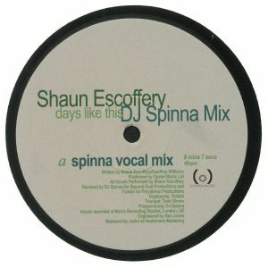 ESCOFFERY, Shaun - Days Like This (DJ Spinna Mix) (Record Store Day 2018)