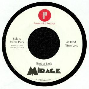 MIRAGE - Bend A Little (reissue)
