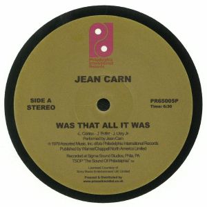 CARN, Jean - Was That All It Was (reissue) (Record Store Day 2018)