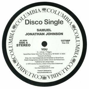 JONATHAN JOHNSON, Samuel - You/My Music (reissue)