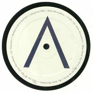 PERVUKHIN, Alex - If EP