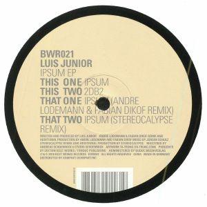 JUNIOR, Luis - Ipsum EP