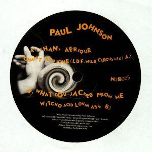 JOHNSON, Paul - Chant Afrique EP
