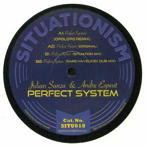 SANZA, Julian/ANDRE ESPEUT - Perfect System