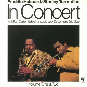 HUBBARD, Freddie/STANLEY TURRENTINE - In Concert Volume One & Two