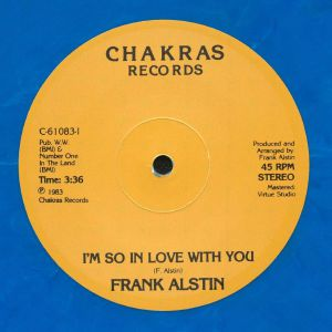 ALSTIN, Frank - It Must Be Love This Time (reissue)