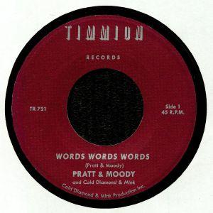 PRATT/MOODY with COLD DIAMOND & MINK - Words Words Words