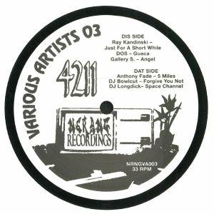 KANDINSKI, Ray/DOS/GALLERY S/ANTHONY FADE/DJ BOWLCUT/DJ LONGDICK - Various Artist #3