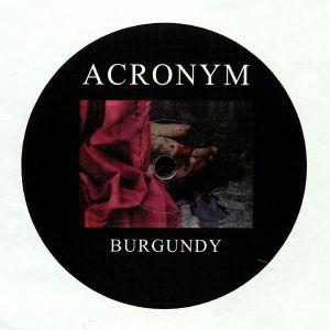 ACRONYM - Burgundy