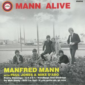MANFRED MANN/PAUL JONES/MIKE D'ABO - Mann Alive (mono) (Record Store Day 2018)