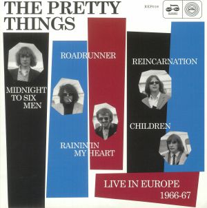 PRETTY THINGS, The - Live In Europe 1966-67 (mono) (Record Store Day 2018)