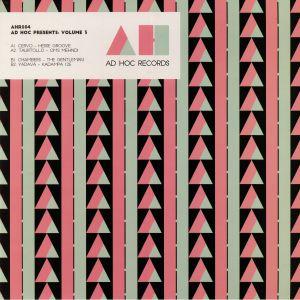 CERVO/TAURTOLLO/CHAMBERS/YADAVA - Ad Hoc Presents: Volume 3