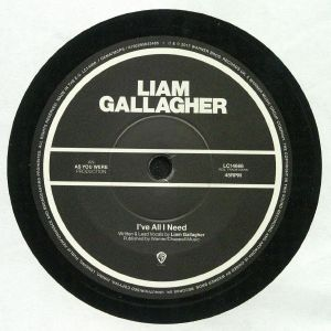 GALLAGHER, Liam - I've All I Need