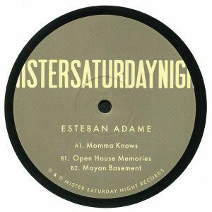 ADAME, Esteban - Mayan Basement EP