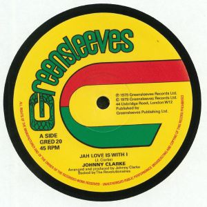 CLARKE, Johnny - Jah Love Is With I
