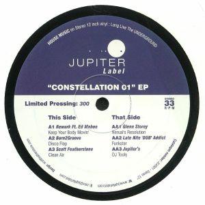 REWURK/BORN2GROOVE/SCOTT FEATHERSTONE/GLENN STOREY/LATE NITE 'DUB' ADDICT/JUPITER'S - Constellation 01 EP