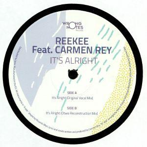 REEKEE feat CARMEN REY - It's Alright (incl Otwo mix)