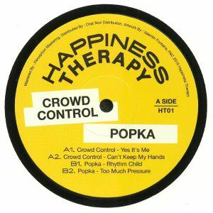 CROWD CONTROL/POPKA - Happiness Therapy Split Vol 1