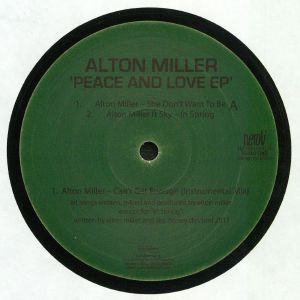 MILLER, Alton - Peace & Love EP