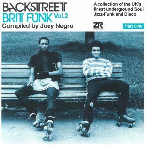 NEGRO, Joey/VARIOUS - Backstreet Brit Funk Vol 2: Part 1