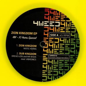 MATIC HORNS/DREAD LION/VIBRONICS meets MR BISKA - Zion Kingdom EP