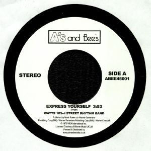 WATTS 103RD ST RHYTHM BAND/THE METERS - Express Yourself/Just Kissed My Baby