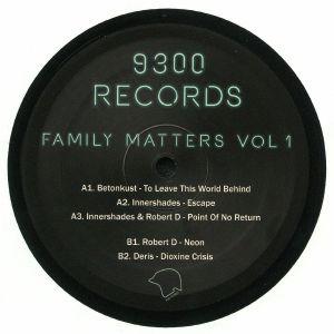 BETONKUST/INNERSHADES/ROBERT D/DERIS - Family Matters Vol 1