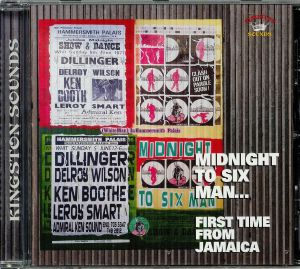VARIOUS - Midnight To Six Man: First Time From Jamaica