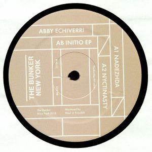 ECHIVERRI, Abby - Ab Initio EP