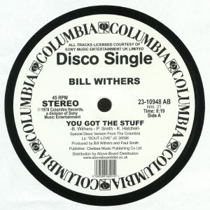 WITHERS, Bill - You Got The Stuff (reissue)