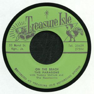 PARAGONS, The with TOMMY McCOOK/THE SUPERSONICS - On The Beach