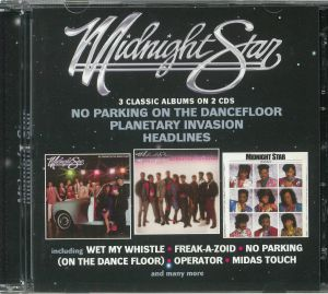 MIDNIGHT STAR - No Parking On The Dancefloor/Planetary Invasion/Headlines