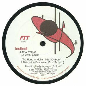 INSTINCT - Just A Feeling (reissue)