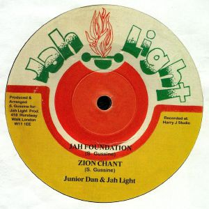 JUNIOR DAN/JAH LIGHT - Zion Chant