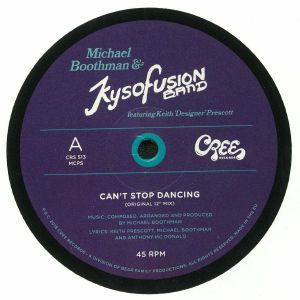 BOOTHMAN, Michael/KYSOFUSION BAND feat KEITH PRESCOTT - Can't Stop Dancing
