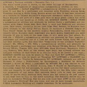 CHARONNE/MURPHIE COOPER/GAB JR/SEUIL - Scenarii Vol 1