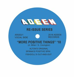 MILLER, Alton - More Positive Things (DJ Spinna, Fishdoll mixes)