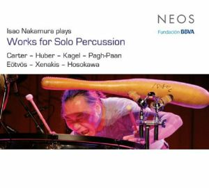 NAKAMURA, Isao - Isao Nakamura Plays Works For Solo Percussion