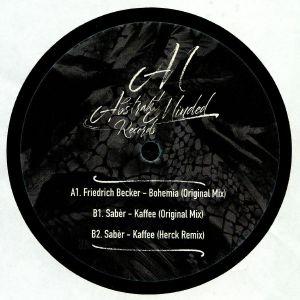 BECKER, Friedrich/SABER - Friber EP