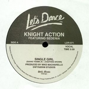 KNIGHT ACTION - Single Girl (reissue)